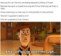 I love Kristoff but yeah I was so disappointed in Hans :/