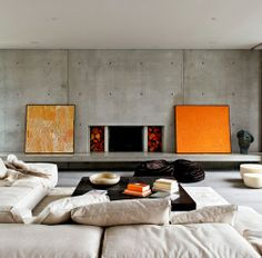 Méchant Design: orange & grey