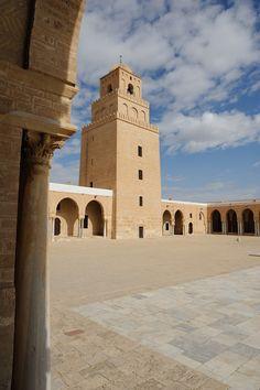 https://flic.kr/p/dVAcjC | 0281-20101016_Tunisia-Kairouan-Zitouna Mosque-the Minaret viewed from inside the Mosque