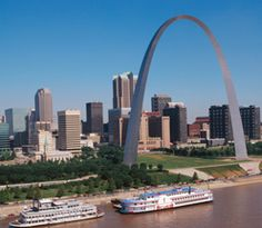 St.Louis, Mo.  The arch.