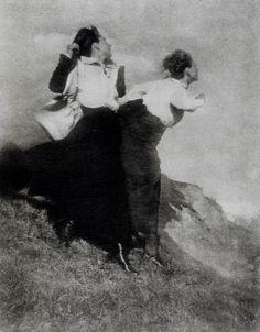 Heinrich Kühn (1866-1944), Le Vent - 1913