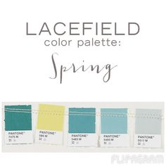 ▶ Play #flipagram Video - http://flipagram.com/f/6IS1YpoaNO  Spring Color Palette from Lacefield Designs  www.lacefielddesigns.com