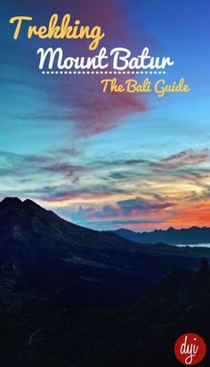 Find out how to arrange a trip to Mount Batur in Bali, the costs and what to expect in this simple guide.