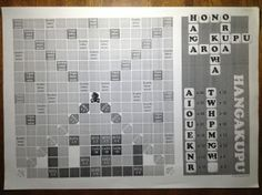 The Maori language Scrabble game