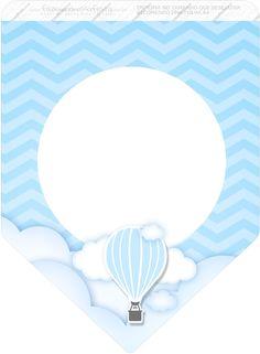Uau! Veja o que temos para Bandeirinha Varalzinho 3 Balão de Ar Quente Azul Baby Banners, Paper Banners, Baby Shawer, Baby Art, Balloon Birthday Themes, Frame Border Design, Baby Shower Clipart, Wedding Drawing, Boy Christening