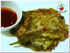 Tortang talong-eggplant omelet