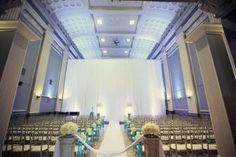 Key Hall at Proctors Wedding Photos by JP & Joe Elario Glitz Wedding, Glamorous Wedding, Blue Wedding, Wedding Details, Wedding Photos, Wedding Ideas, Wedding Stuff, Ceremony Decorations, Event Venues