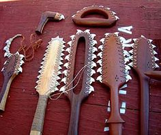 weapons - HAND MADE WEAPONS OF THE ANCIENT POLYNESIANS FROM HAWAII, THE…