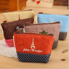 Women Kids Korean Vintage Mini Coin Purses #coinpurse