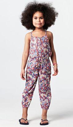 Buzos o Jumpsuits para niñas http://www.minimoda.es
