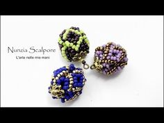 DIY tutorial: rhombs ball, My Crafts and DIY Projects Beaded Beads, Beaded Ornaments, Beaded Earrings, Braclets Diy, Beaded Braclets, Diy Bracelet, Jewelry Making Tutorials, Beading Tutorials, Jewelry Making Beads
