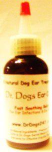 Dr Dogs Ear Oil 60 mL Pet Ear Infection Treatment/Ear Cleaner