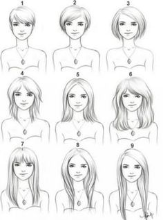 Hairstyles to Fit Your Face Shapes for Perfect Haircut | Face ...