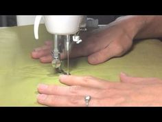 Video tutorial for free motion wood grain quilting