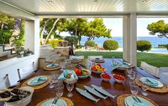 Luxury real estate in Megara Greece - Beachfront Villa in Kineta - JamesEdition