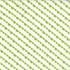 Happy Go Lucky - Jump - White Lime (half yard) by Bonnie and Camille (55064 23)