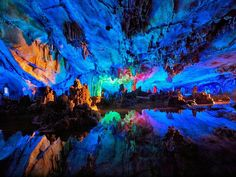 Reed Flute Cave Guilin, Guangxi, China