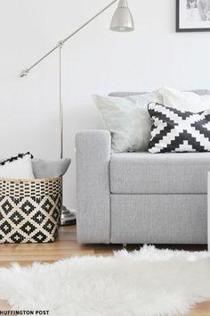 Cushions plus storage