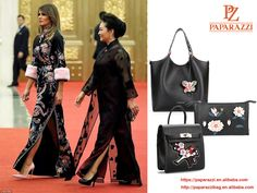 #Women Empowerment in today's world! First #Lady Melania #Trump and China's First Lady Peng Liyuan. It is so inspirational to observe the #grace and #poise of these ladies. @PZLEATHER would like to make more and more ladies have these graces and poises. #handbag #Handbagnews