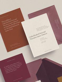 Custom Wedding Invitations, Wedding Stationary, Stationery Design, Invitation Design, Wedding Paper, Letterpress, Graphic Design, Design Design, Vector Design
