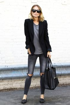 Anine Bing Nails The Casual Chic Look | Le Fashion | Bloglovin'