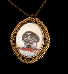 Dead Snow Cameo Necklace by Goraline on Etsy, $5.00