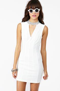 Crystallized Cutout Dress