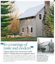 Modern farmhouse | Redo of Virginia 1783 log cabin