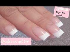 Comment se faire des faux ongles à la maison? PARTIE 2 - YouTube