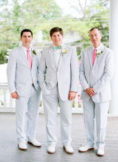 seersucker groomsmen | Faith Teasley