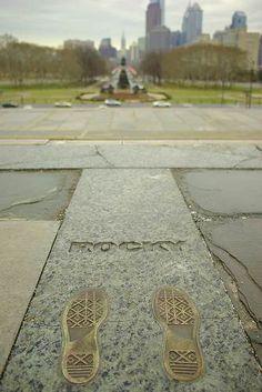 Rocky Steps, Philadelphia Museum of Art