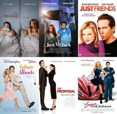 5 Types of Romantic Comedy Movie Posters _ The Men are inept women have to do everything Best Romantic Comedies, Romantic Comedy Movies, Romance Movies, Movie To Watch List, Good Movies To Watch, Comedy Movies List, Movie Love Quotes, Chick Flicks, About Time Movie