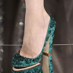 FSJ Women's Style Pumps and D'orsay Heels Green Rhinestone Heels Round Toe Chunky Heels Evening Shoes For Party Chic Fashion Party Shoes Classy Rhinestone Prom Dresses Shoes Spring Outfits Women Elegant Wedding Dresses Shoes, Dancing Club, Going Out | FSJ