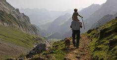Wandern im Toggenburg.