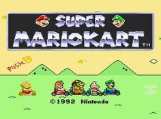 Super Mario Kart (SNES) |