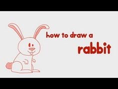 How to #Draw a #Rabbit? Simple step by step guide learn #howtodraw a Rabbit in a simple and interactive way. More such #drawing lessons at http://mocomi.com/fun/arts-crafts/drawing-for-kids/