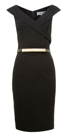 Belted pencil dress - what do you think about this dress for me for your wedding but in a different color?
