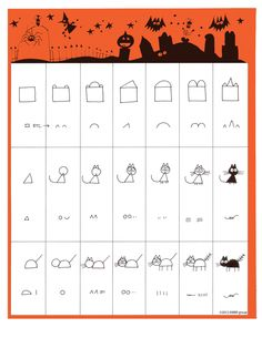 Ed Emberley's Drawing Pages / Halloween