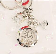 """Origami Owl Christmas 2015 Limited Edition """"Let it Snow"""" plate. Click on the pic to see all that's new!"""