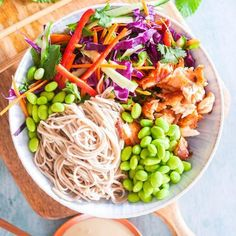 My Top 7 Power Bowl Recipes - Healthy lunch ideas for work - Quick Healthy Lunch, Healthy Lunches For Work, Healthy Snacks, Healthy Eating, Healthy Recipes, Work Lunches, Healthy Drinks, Healthy Dinners, Asian Recipes
