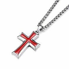 1.97 in x 1.22 in Jewel Tie Sterling Silver Antiqued Cross Charm