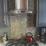 Glazed Java Tan Pebble Tile - Pebble Tile Shop Hall Bathroom, Bathroom Flooring, Pebble Tile Shower, Shower Floor, Java, Backsplash, Interior And Exterior, Glaze, Swimming Pools