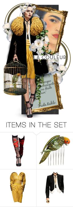 """Frida Kahlo"" by mew-muse ❤ liked on Polyvore featuring art"