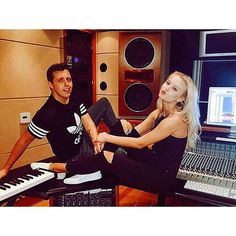 Instagram media zaralarsson - We were just sitting like this casually writing songs when Kalli decided to take a sneaky photo of us