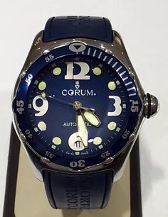 Corum Bubble Diver Blue Automatic 45 mm.