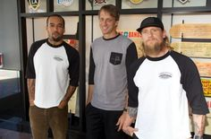 THF Board Members Ben Harper, Tony Hawk, and Mike Vallely introduce the Boards + Bands program at a press conference during the X Games in Los Angeles, 6/27/12: www.boardsandbands.org