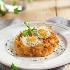 Huevos Fritos, Tapas, Food Photography, Brunch, Food And Drink, Eggs, Pasta, Breakfast, Health
