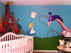 Alice in wonderland nursery....just have to wait and see