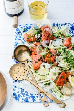 Slow Cooked Salmon w