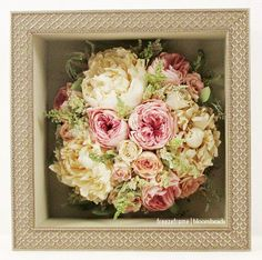 Have your #bouquet #preserved and #framed! freezeframe|bloombeads